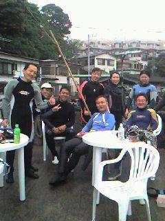 真鶴岩ダイビングツアー